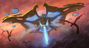"""the Protoss mothership"""